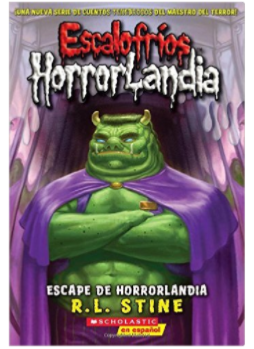 R.L. Stine's Goosebumps HorrorLandia in Spanish book