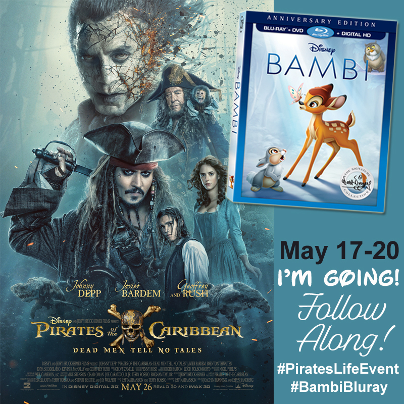 #PiratesLifeEvent Insider Access to Disney's Pirates of the Caribbean movie