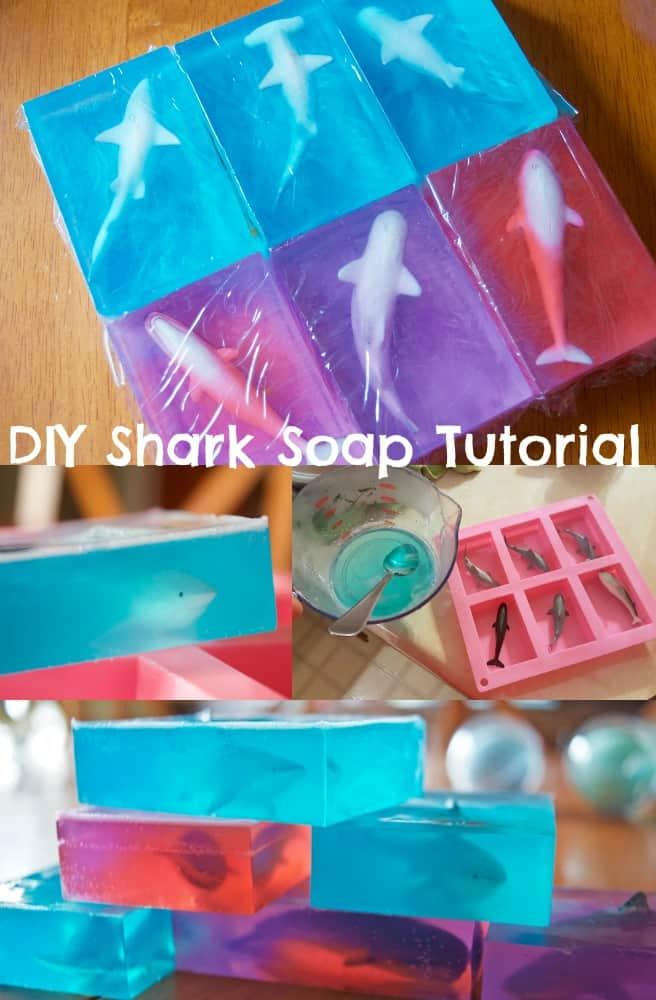DIY Shark Soap Tutorial