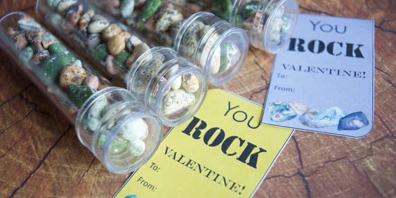 You ROCK! Valentine Printable and Classroom Gift