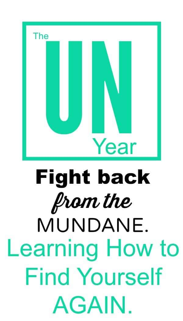 The UN-year: Learning How to Find Yourself Again