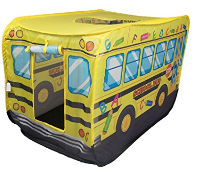 school bus play tent for kids