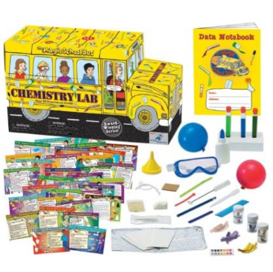 The Magic School Bus science Chemistry kit