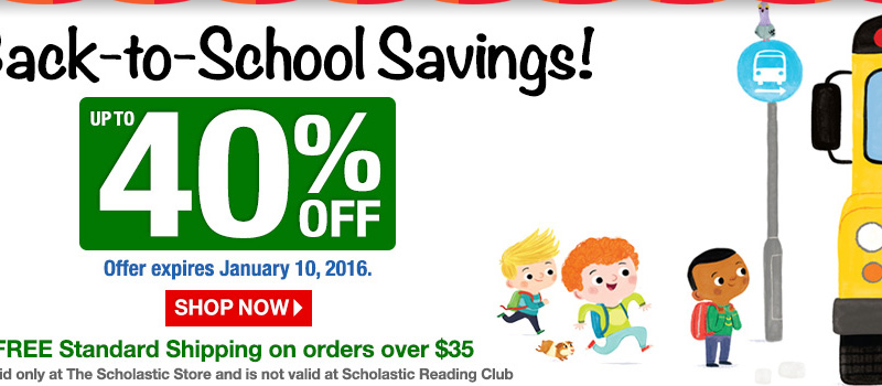 Educational & Books Sale at The Scholastic Store Online