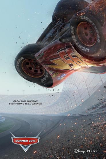 Disney Pixar Cars 3 Movie Poster Trailer