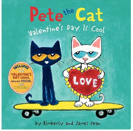 Pete the Cat Valentine's Day children's book