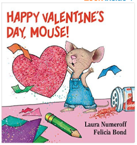 Happy Valentine's Day mouse book for kids