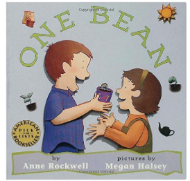 One Bean kids gardening earth day book