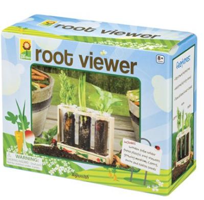 Garden Root Viewer for kids