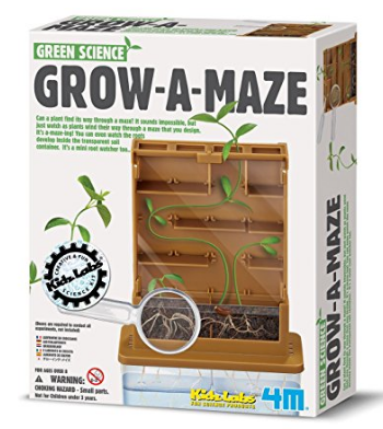 Grow a Maze Gardening science experiment kit