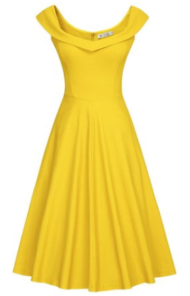 Belle Inspired Fashion yellow dress