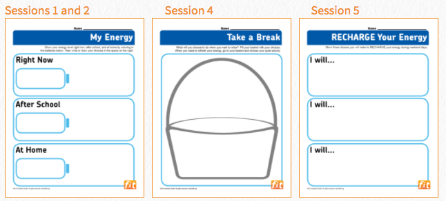 fit4Schools free activity boosters and lesson resources for teachers