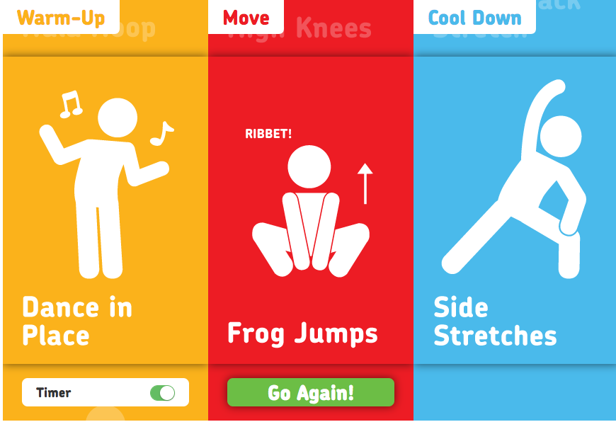 fit4Schools free exercise activity boost for kids