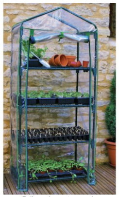 Vertical Portable Greenhouse