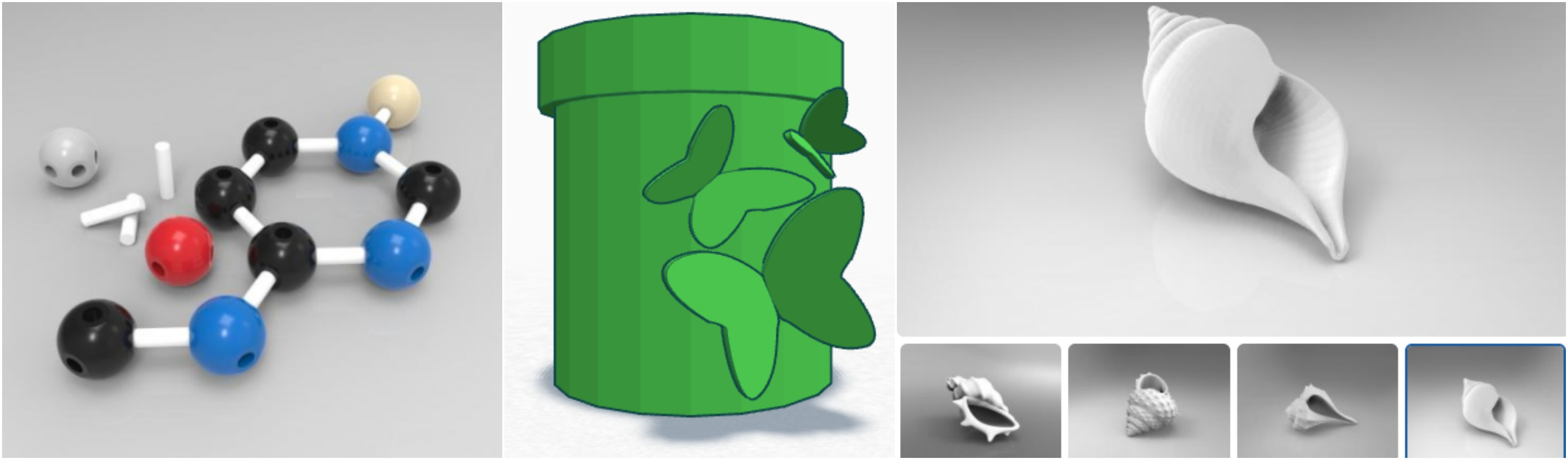Science, Anatomy, & Animals/Nature 3D Printing Models for the Classroom