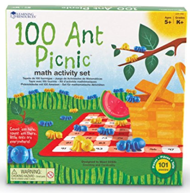 Counting to 100 Ant Picnic Math Game by Learning Resources