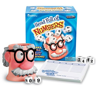Head Full of Numbers Math Game for Kids by Learning Resources