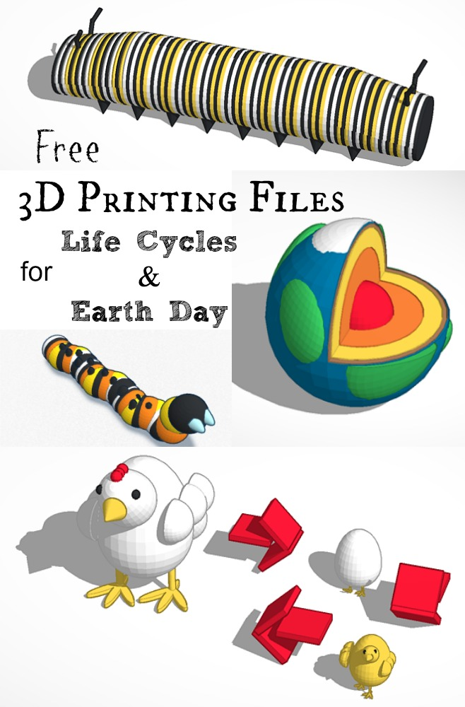 3d printing files life cycles earth day