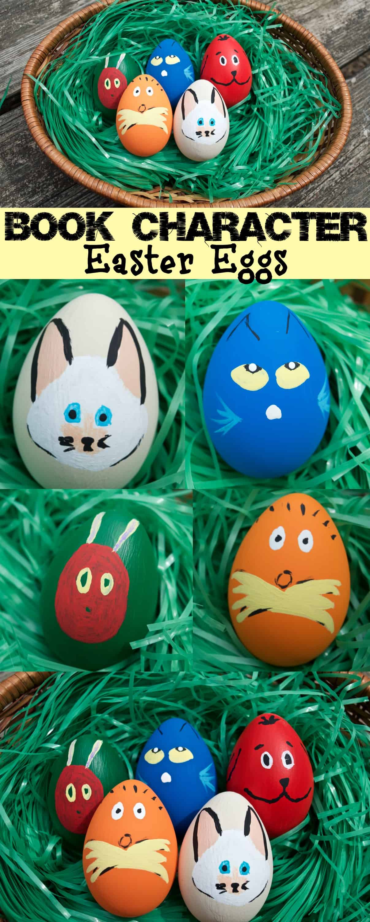 Children's Book Character Easter Eggs