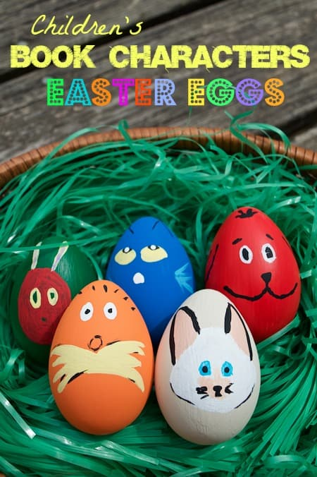 Children's Book Character Easter Eggs