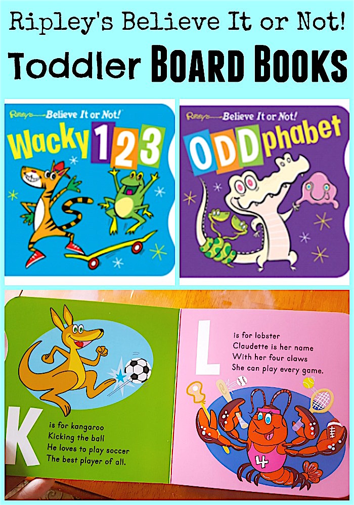 Ripley's Believe It or Not! Toddler Board Books