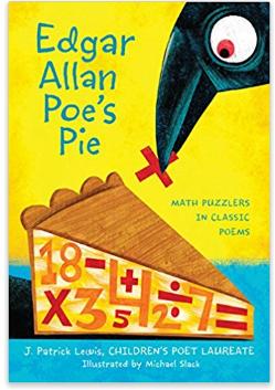 Edgar Allen Poe's Pie math puzzle book