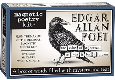 Edgar Allen Poe magnetic Poetry set