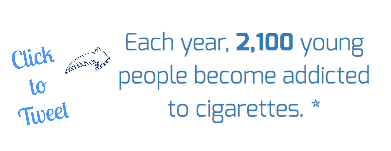 Anti-Tobacco Teacher Resources Tweet Card