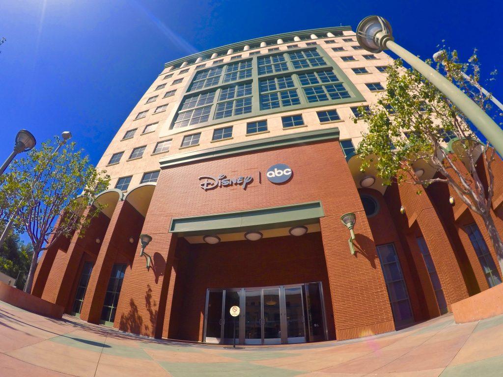 Disney's old Animation Studios Building in California