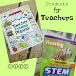 Teacher Coloring Planner & STEM Instant Activities Set