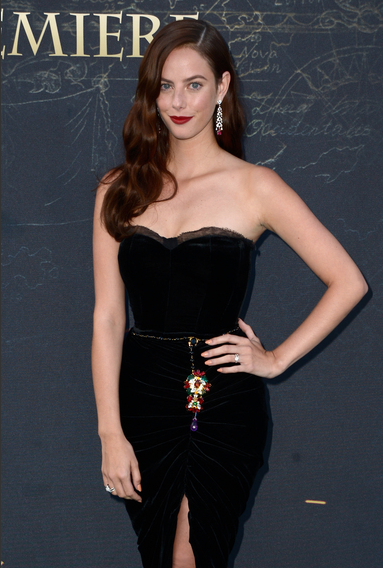 Kaya Scodelario at the Pirates of the Caribbean: Dead Men Tell No Tales Premiere