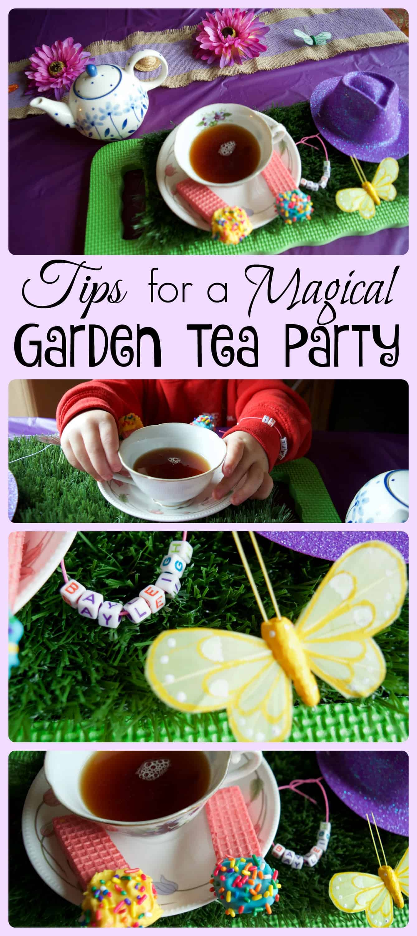 Tips for Hosting a Magical Garden Tea Party for Kids