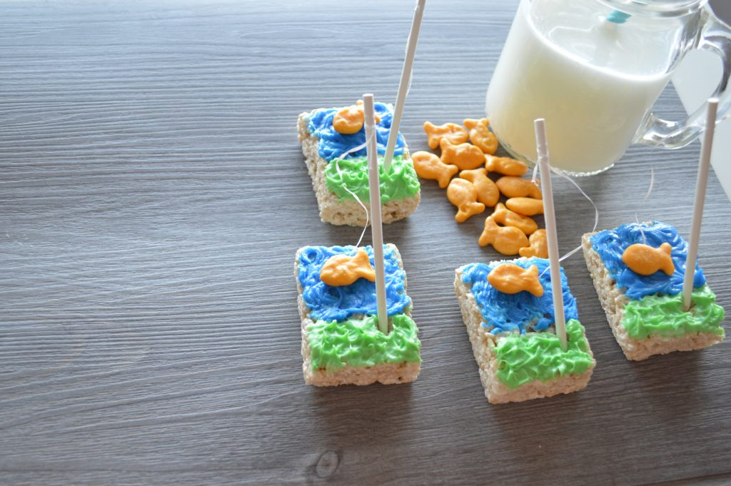 We've Gone Fishing Cereal Treats for Kids Recipe