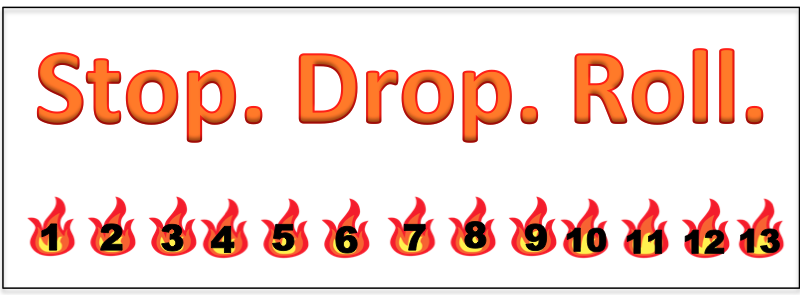 FREE Fire Safety Bookmark, Punch Card, Printables & MORE