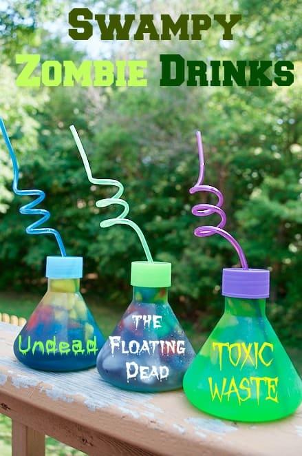 Swampy Zombie Toxic Waste Drinks Recipe Idea
