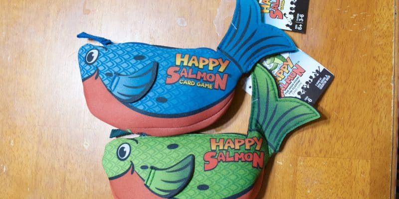 Fun Family Game Night with the Happy Salmon Game Review
