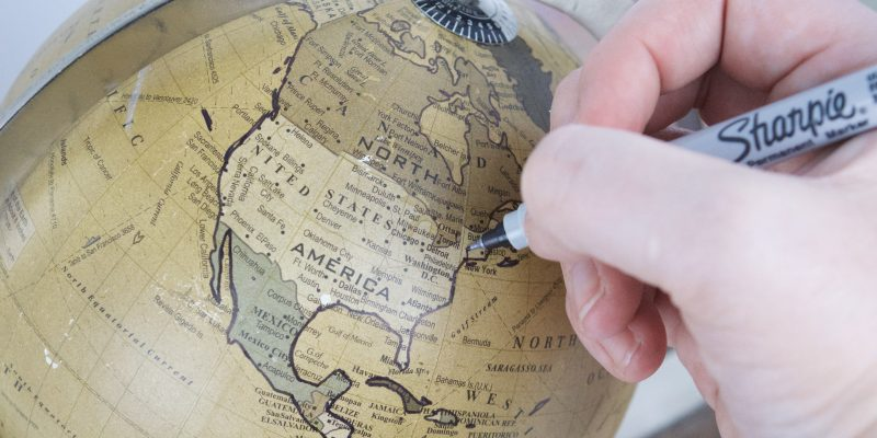 DIY Button Globe + Projects & Gift Ideas from Goodwill Thrift Store