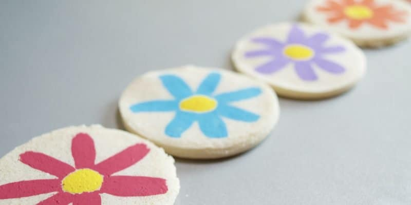 Salt Dough Recipe: A Flower in my Pocket (Mother's Day Activity)