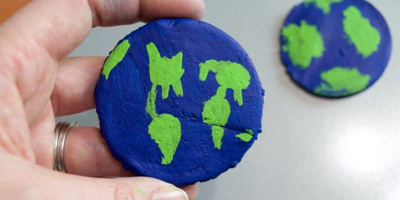 Salt Dough Recipe: Earth in my Pocket (Earth Day Activity)