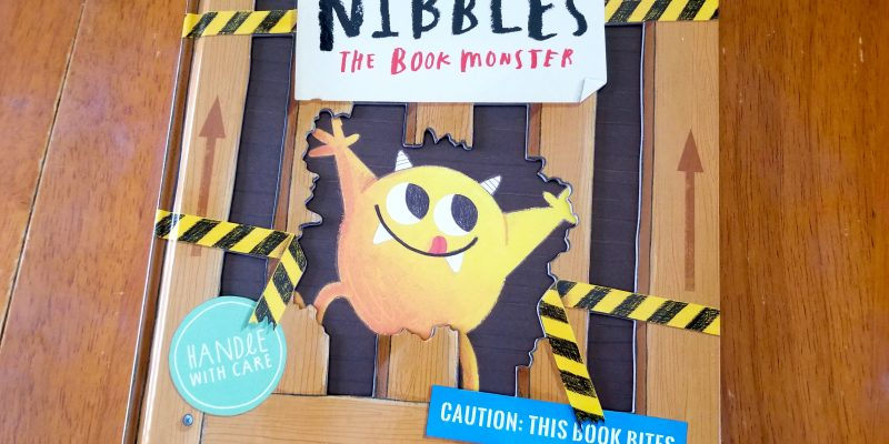 Nibbles the Book Monster children's picture book