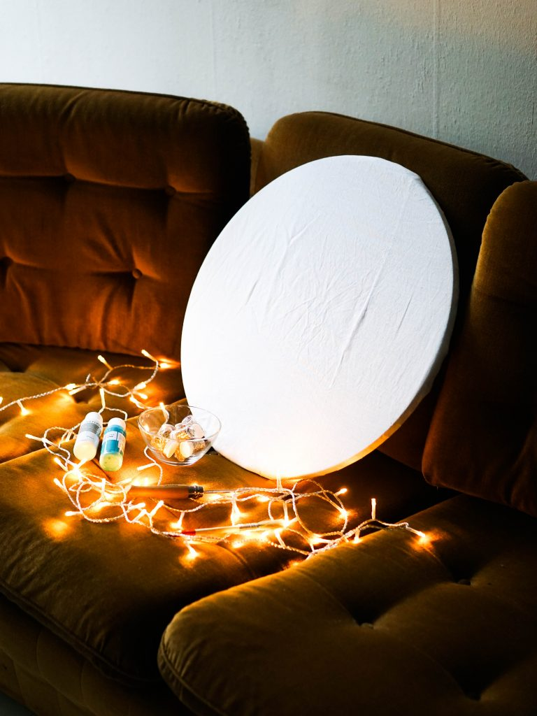 How To Make Your Own Diy Canvas Light Home Decor Tutorial