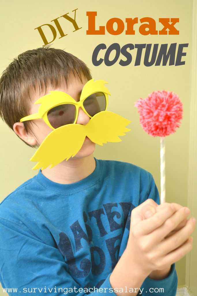 How to Make Your Own DIY Lorax Costume Tutorial
